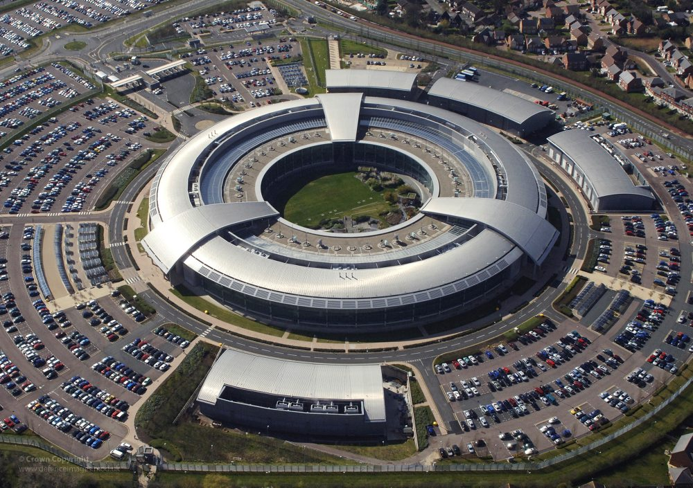 "Figure 2: GCHQ. Image: {a href=""https://www.flickr.com/photos/defenceimages/7985695591/in/photolist-daEM5K-kUYVK-9d6BtH-fVGBxX-hc9AUL-nXk1UF-56mAED-8NyrVY-DBbat-fhYTYM-oGvYuD-nF8DfV-oGw84x-oYKvwt-oZ1SeV-oGw1dP-oGwhAQ-fLPe7y-oYKuAa-oGw8kp-oYZc9j-oGwTSQ-oGwSRS-oYKwBK-oGwPfU-oYZkeN""}Defence Images{/a}"
