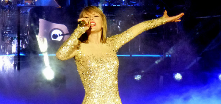 Figure 1: Taylor Swift. Photo: Tony Shek