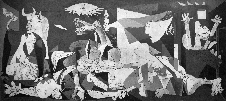 Pablo Picasso's Guernica. Image: Manuel Galrinho