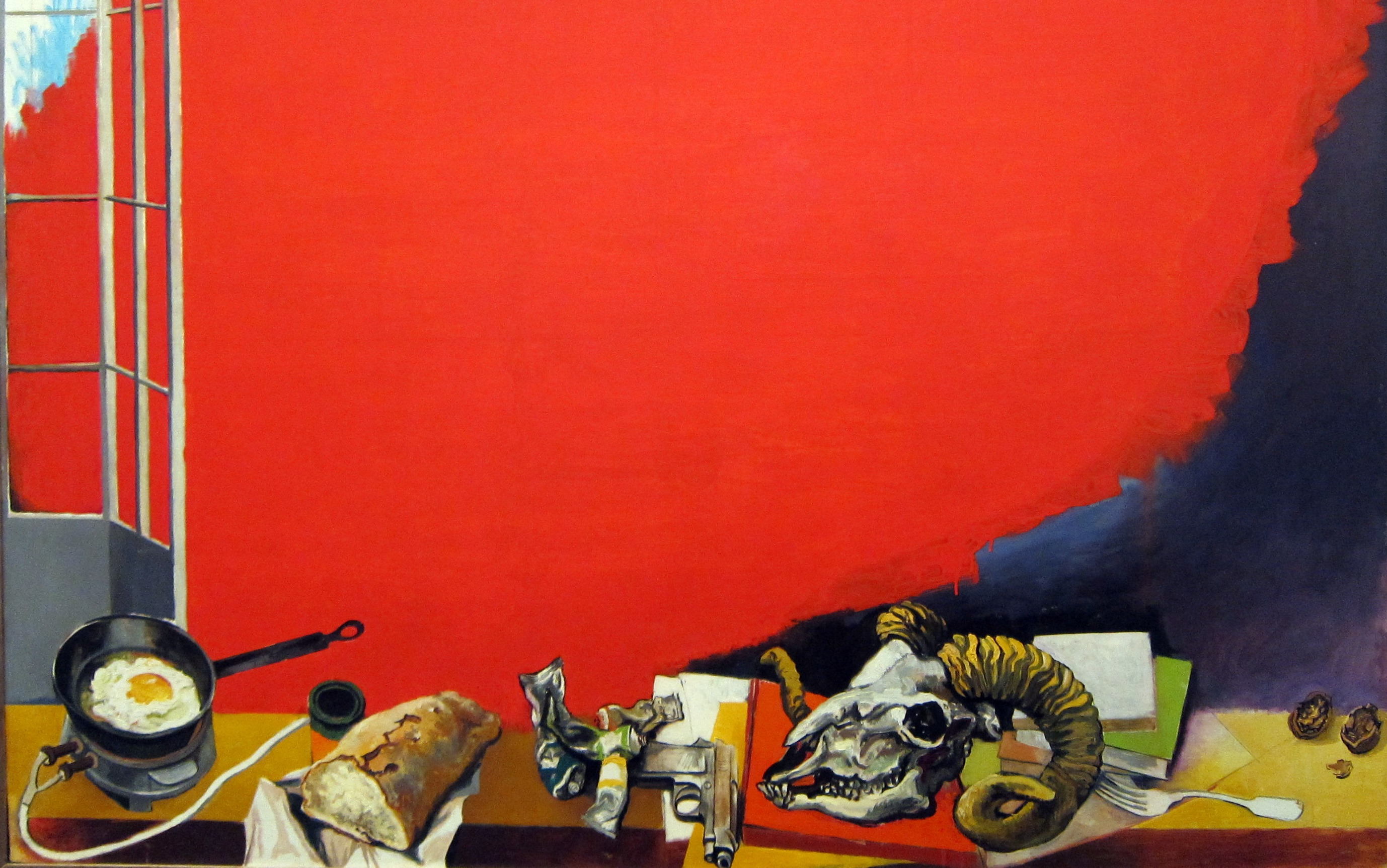 Renato Guttuso, 'The Red Cloud', 1966. Image: Chris Ilsley