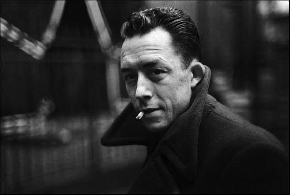 The writer Camus