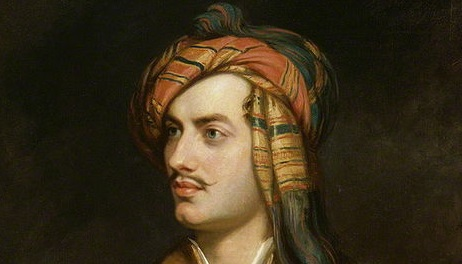 'Lord Byron in Albanian dress', Thomas Phillips, c.1835.