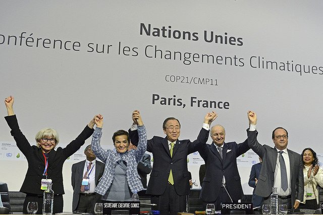 A landmark in Climate Change agreements. Twitter.com/COP21