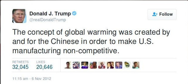 Ok Donald..