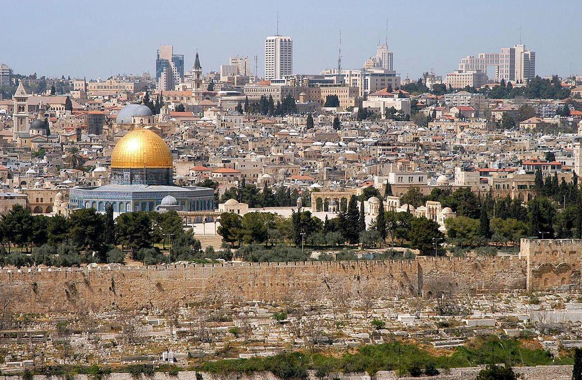 Modern-day Jerusalem: