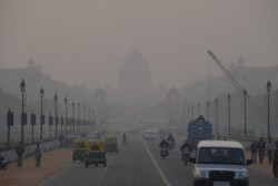 Smog over Delhi Image:Mark Danielson
