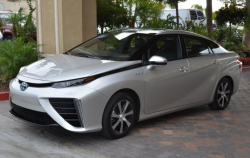 Toyota Mirai, the only hydrogen car on sale from a major manufacturer