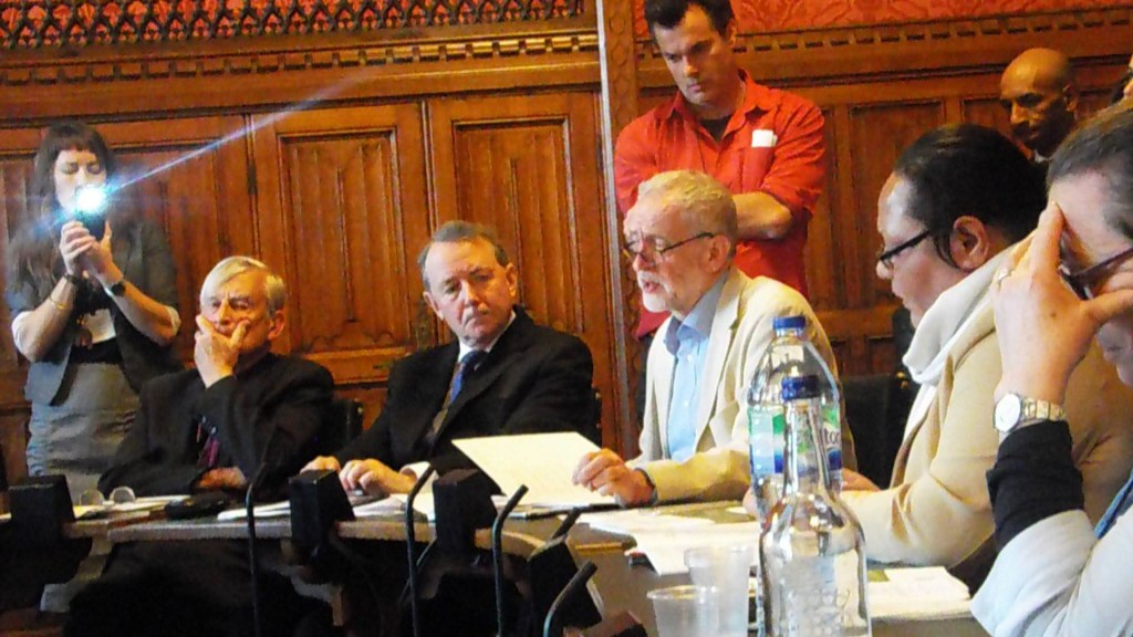 Jeremy Corbyn speaking at the launch of the Politics of Papua Project report and Westminster Declaration on May 3, 2016.