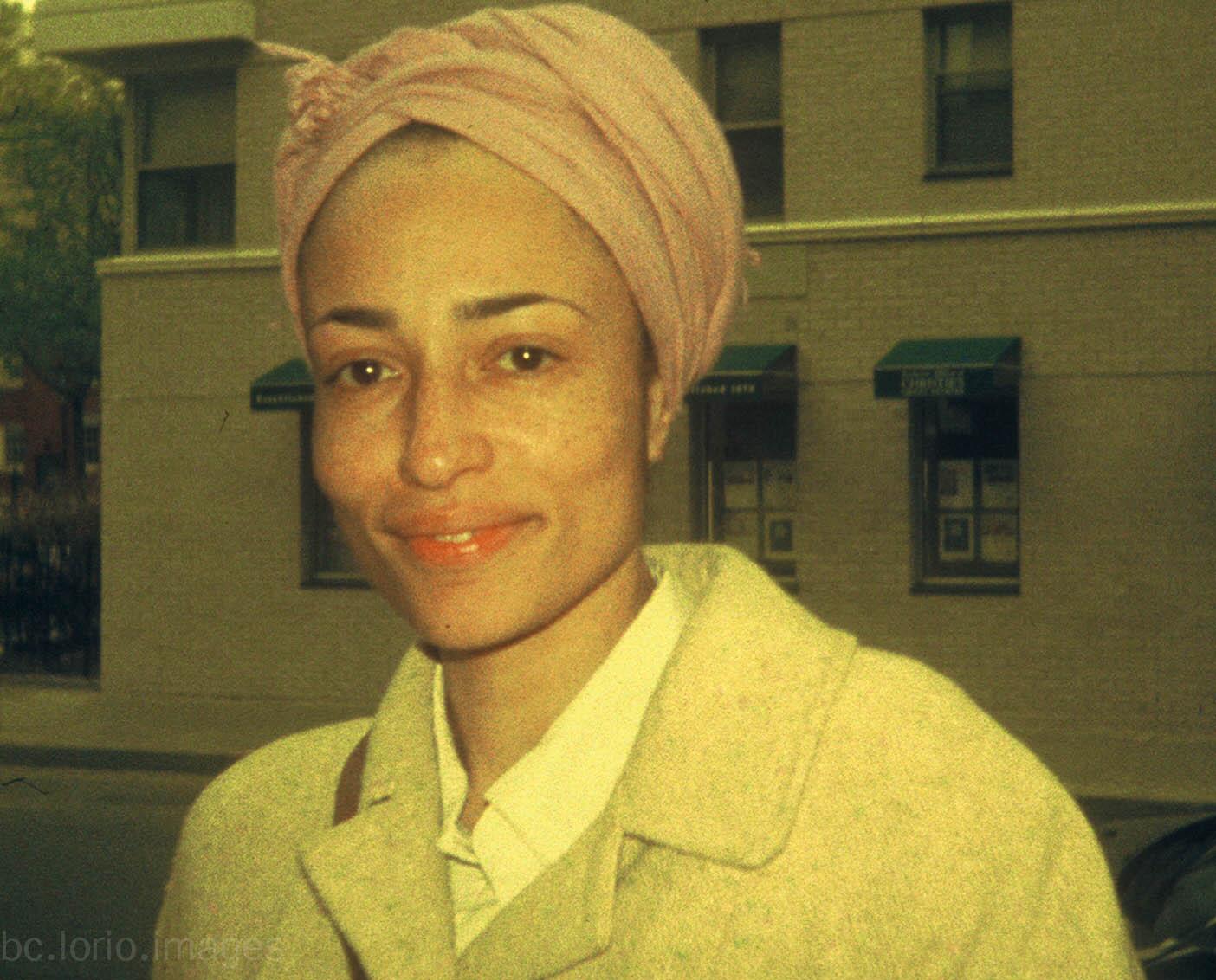 Zadie Smith in New York. Source: Flickr / B.C. Lorio