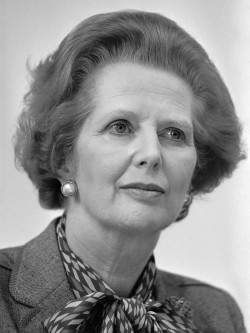 Former Prime Minster Margaret Thatcher, who abolished academic tenure in the UK in 1987.
